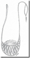 Drawing of a sling
