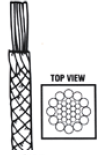 Hollow and Diamond Braided rope construction