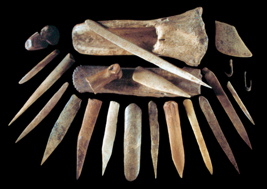 Tools made from bone