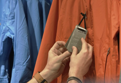 New stainless steel clothing labels double as survival tools